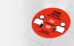 2 metre - Drink safely gallery image