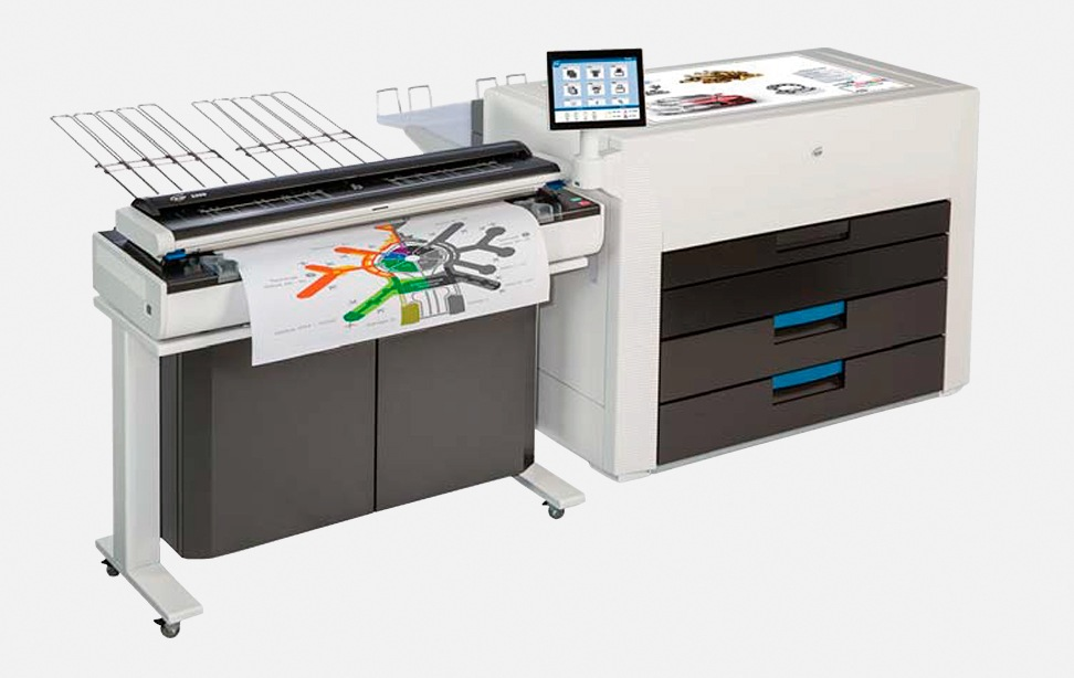 KIP 990 Multi-touch production colour print system