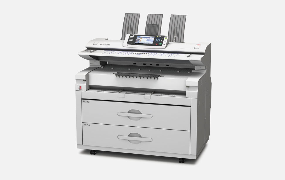 Ricoh Aficio MP W5100 Colour Scanner