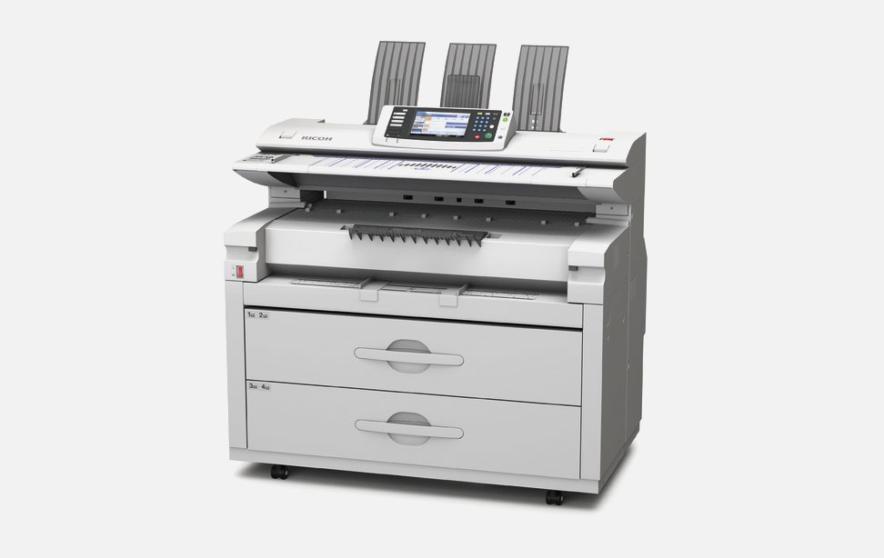 Ricoh Aficio MP W7140 Colour Scanner
