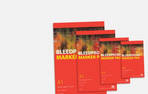Bleedproof Marker Pad