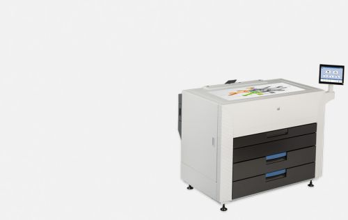 KIP 870 Multi-touch production colour print system