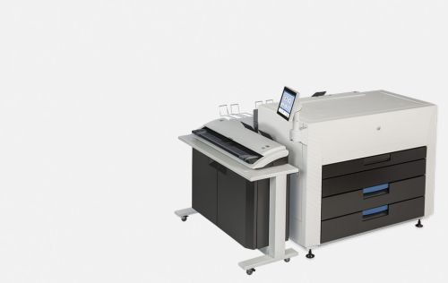 KIP 880 Multi-touch production colour print system