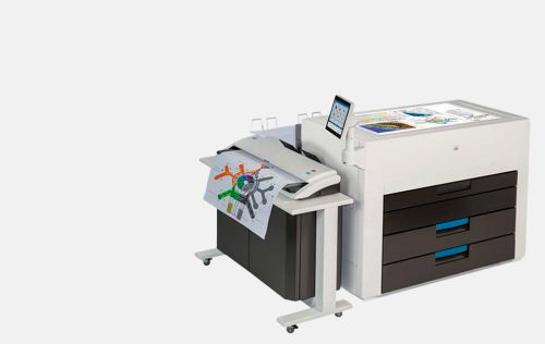 KIP 980 Multi-touch production colour print system