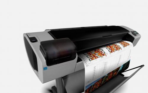 HP DesignJet T1300ps Printer