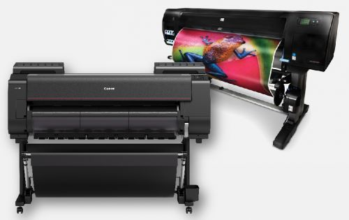 Canon Pro 4000S verses HP Z6200 review test