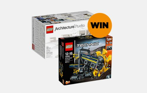 Visit us at the Build Show and you could win a lego box set