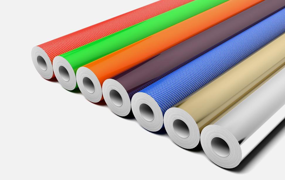 Vinyl Cling Rolls For Window Decals And Graphics For Use